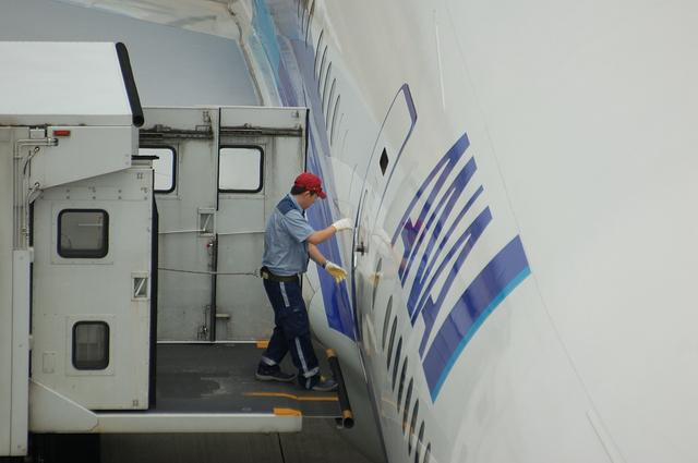 Boeing777 ドア・オープン 2