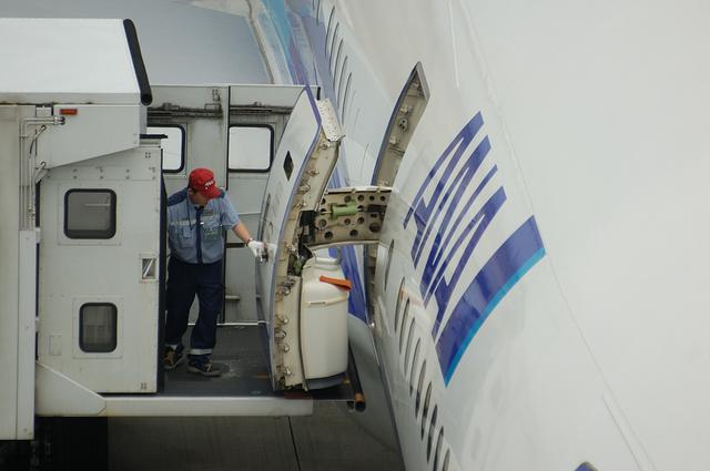 Boeing777 ドア・オープン 4