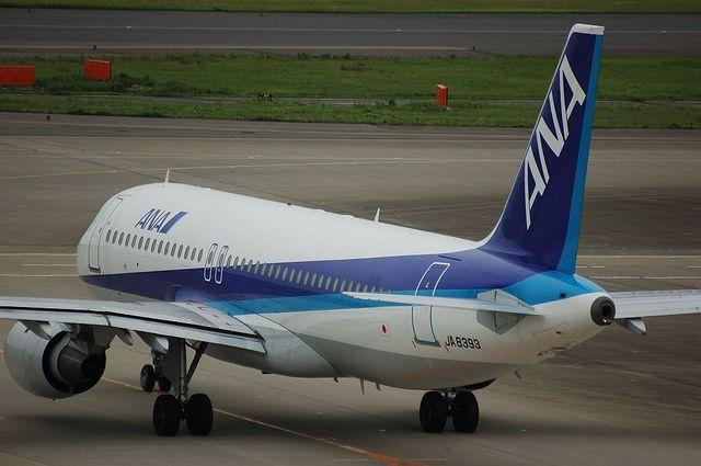 A320-200の後姿