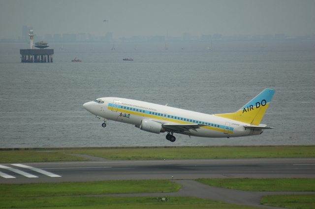 Air Do Boeing737-500(JA8504)