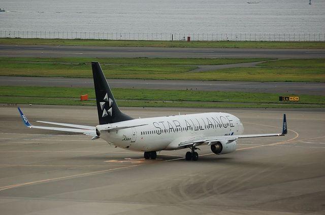 スターアライアンス Boeing737-800 出発