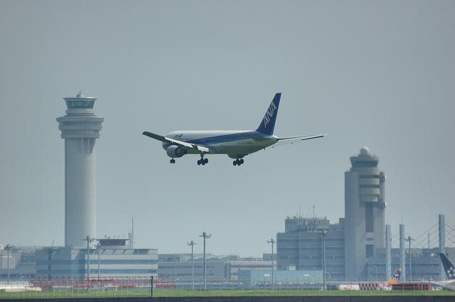 羽田空港R/W16Lへの着陸
