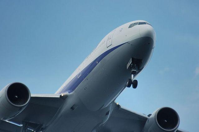 Boeing777-200の機首