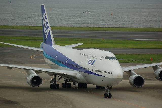 ANA Boeing747-400D(JA8959)