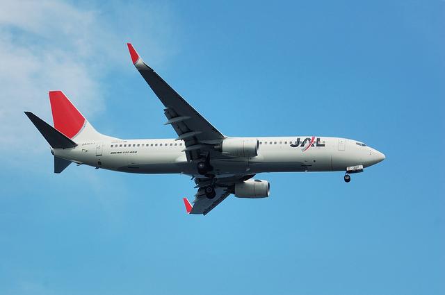 日本航空Boeing737-800
