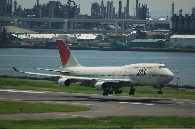 JAL Boeing747-400(JA8910) その3