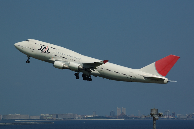 JAL Boeing747-400(JA8910) その5