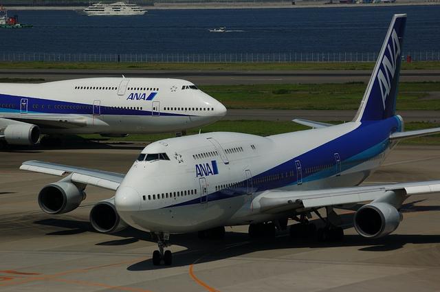 ANA Boeing747-400 その1