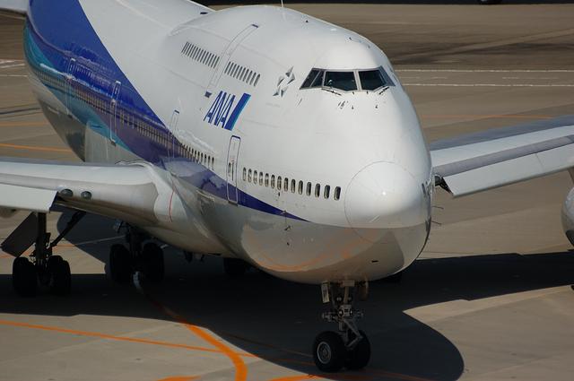 ANA Boeing747-400 その2