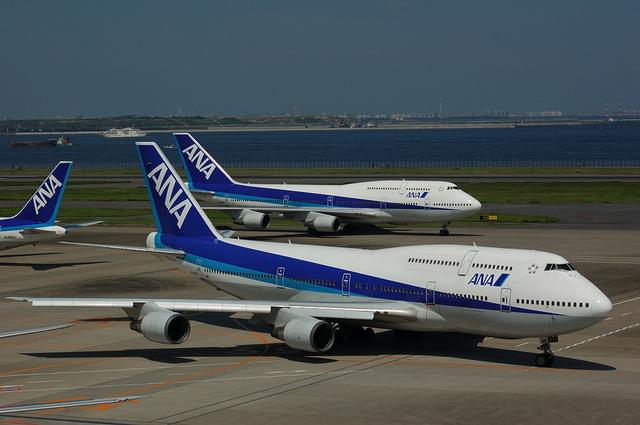 ANA Boeing747-400 その3