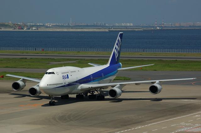 ANA Boeing747-400 その5