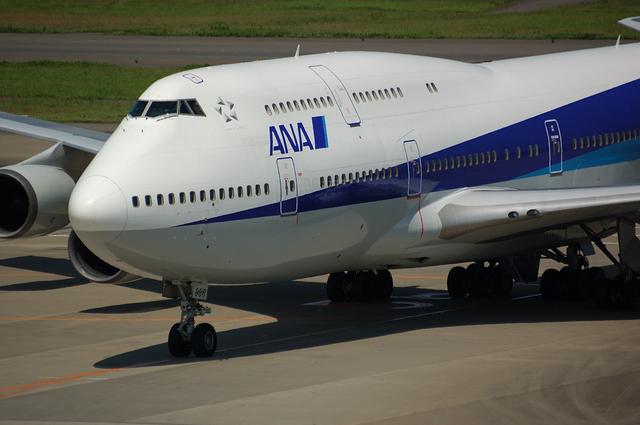 ANA Boeing747-400 その6