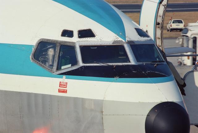 Boeing727の顔