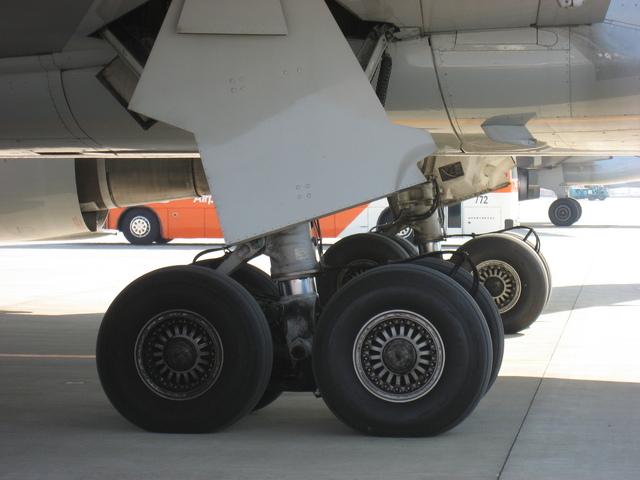 Boeing767の主輪