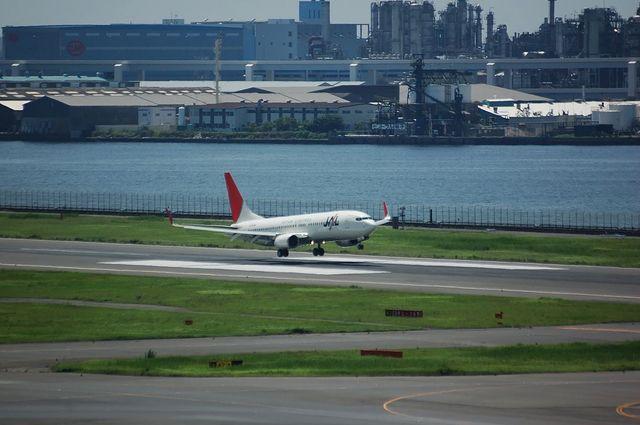JAL Boeing737 Landing
