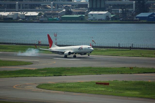 日本航空 Boeing737-500