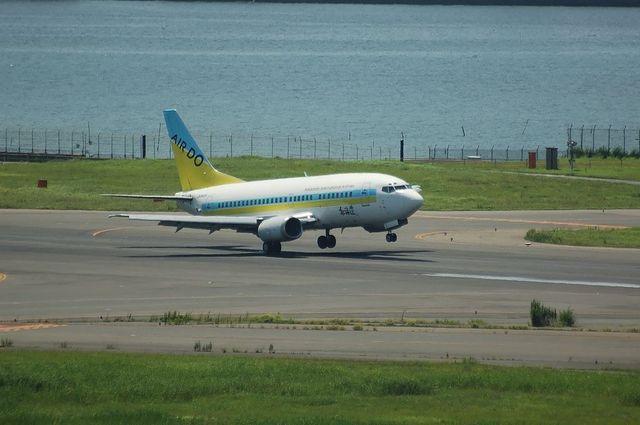 AIRDO Boeing737 Landing