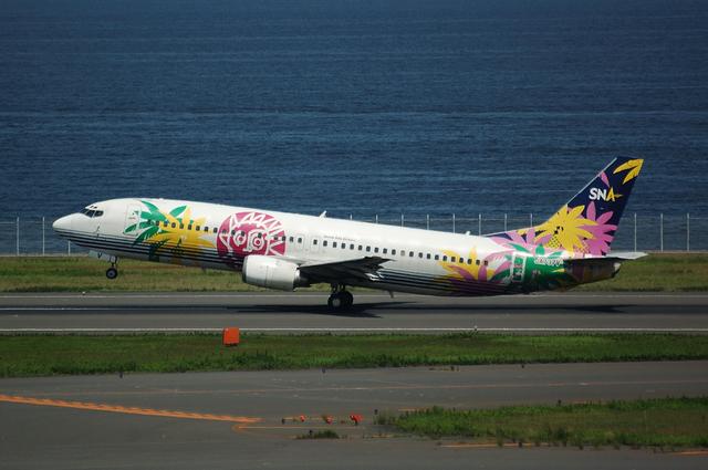 SNA Boeing737-400(JA737V)
