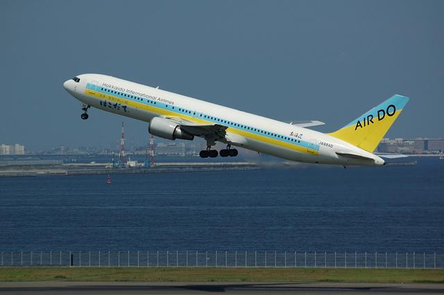 ADO Boeing767-300ER TakeOff
