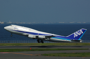 Boeing747-400 TakeOff