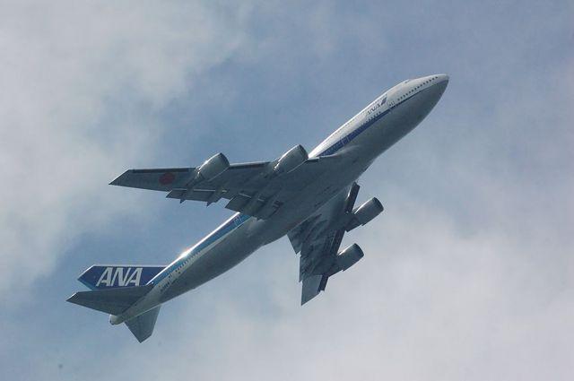 ANA Boeing747-400D(JA8964)