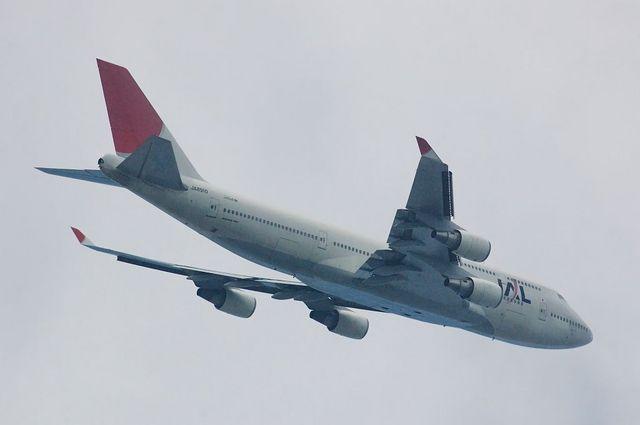 JAL Boeing747-400(JA8910)