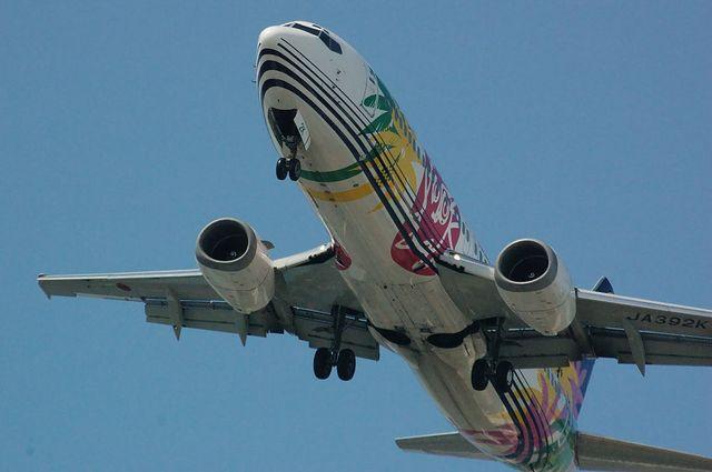 SNA Boeing737-400(JA392K)