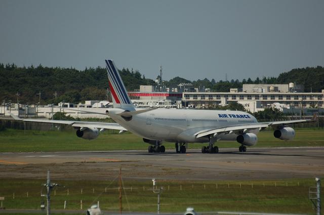 エール・フランス Ready for take off