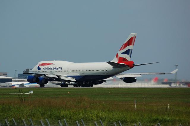 BA Boeing747-400 Take Off