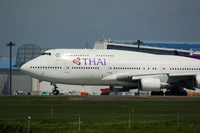 Thai airways international Boeing747-400