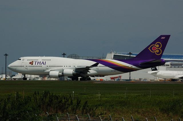 タイ国際航空 Boeing747-400