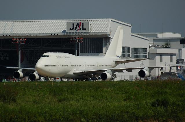 元JALのクラシックジャンボ