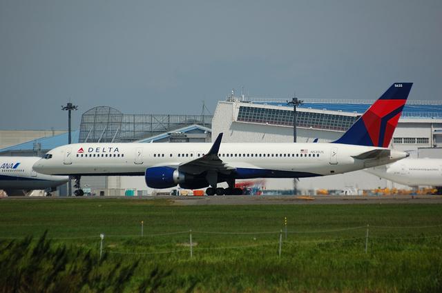 デルタ航空のBoeing757-200(WL)