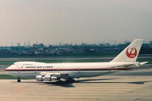JAL Boeing747SR Haneda