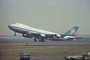 ANA Boeing747SR Haneda