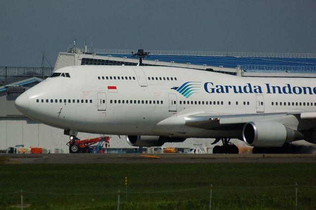 Garuda Indonesia Boeing747-400