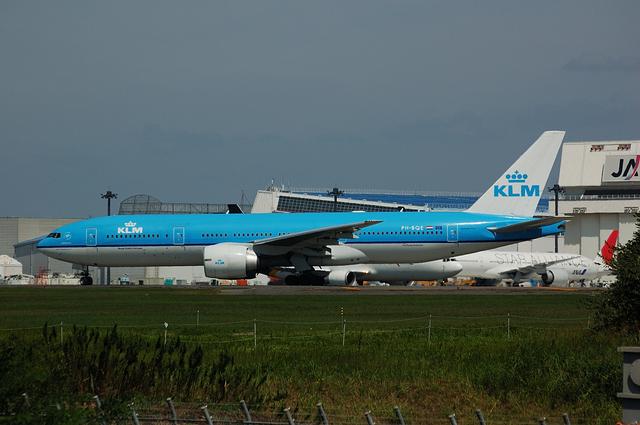 KLM Boeing777-200ER