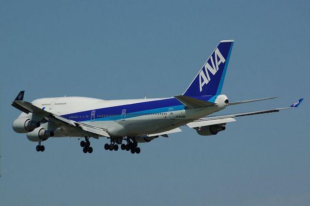 全日空 Boeing747-400