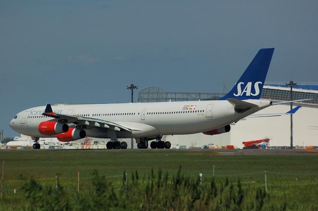 スカンジナビア航空 Airbus A340-300