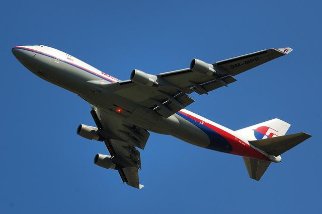 マレーシア航空のBoeing747-400F