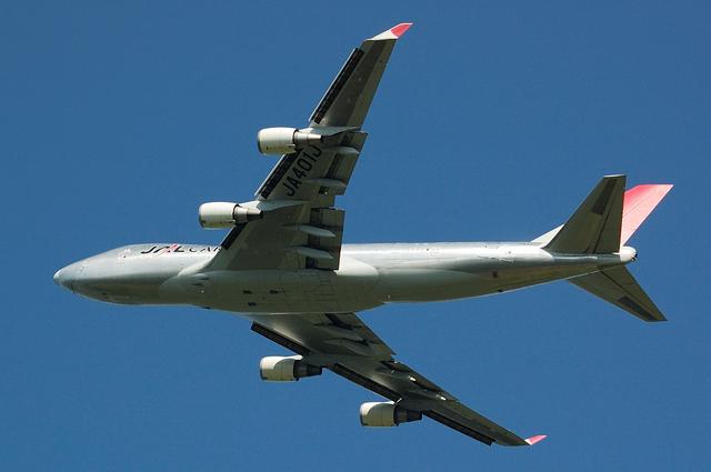 JAL CARGO Boeing747-400F(JA401J) No.3