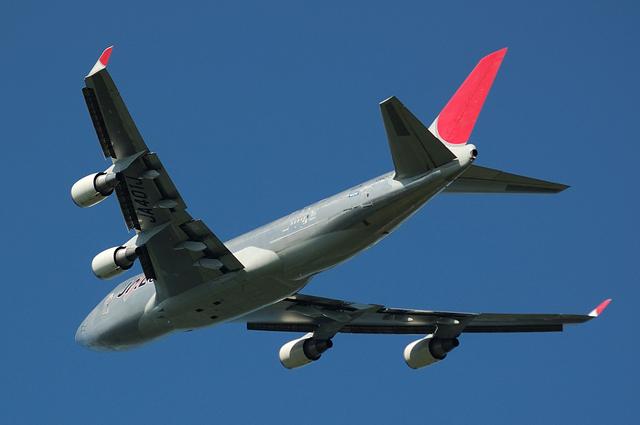 JAL CARGO Boeing747-400F(JA401J) No.4