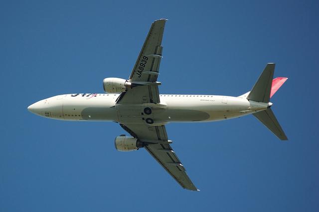 JAL Boeing737-400(JA8939)