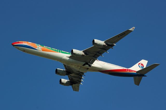 中国東方航空のAirbus A340-600