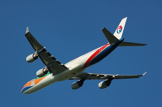 Airbus A340-600(B-6055)