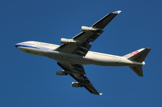 中華航空公司 ボーイング747-400