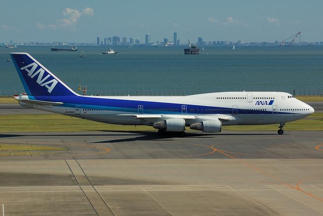 ANA Beoing747-400D(JA8961) 2
