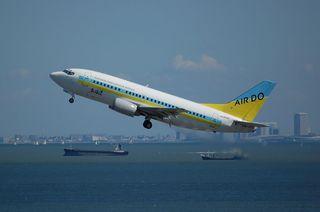 ADO Boeing737-500 Take Off