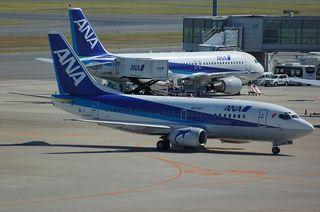 ANA Boeing737-500(JA357K)