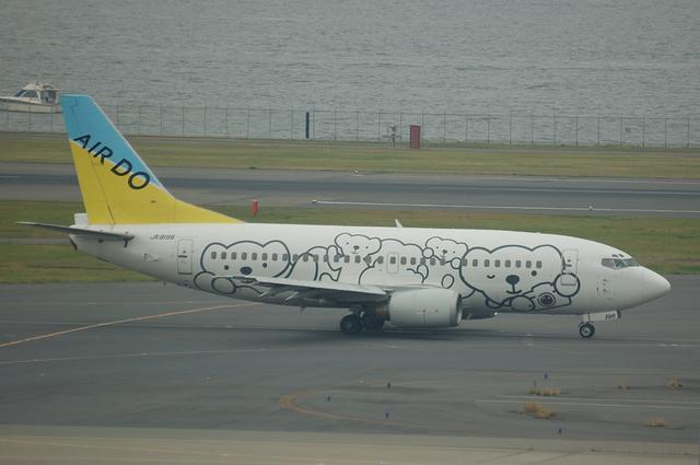 AIRDO ベアドゥ Boeing737-500 1